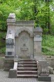 Monumento de la fuente en Carol Park, Bucarest Fotos de archivo