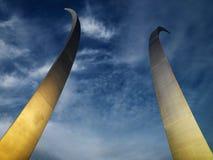 Monumento de la fuerza aérea fotografía de archivo