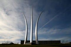 Monumento de la fuerza aérea de Estados Unidos imagen de archivo