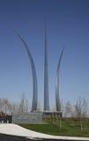 Monumento de la fuerza aérea de Estados Unidos Fotos de archivo libres de regalías