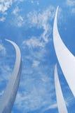 Monumento de la fuerza aérea - Washington DC Imágenes de archivo libres de regalías
