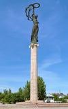 Monumento de la gloria en Kherson, Ucrania Fotos de archivo libres de regalías