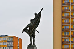 Monumento de la guerra Fotografía de archivo libre de regalías