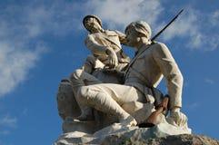 Monumento de la guerra Imagenes de archivo