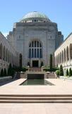 Monumento de la guerra de Canberra Imagen de archivo libre de regalías