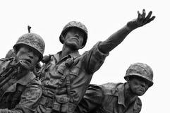 Monumento de la Guerra de Corea, Seul Imagen de archivo libre de regalías