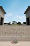 Monumento de la guerra de Kranji (Singapur) Fotografía de archivo libre de regalías