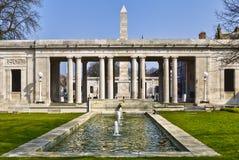 Monumento de la guerra de Southport Fotos de archivo libres de regalías