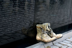 Monumento de la guerra de Vietnam Imagen de archivo libre de regalías