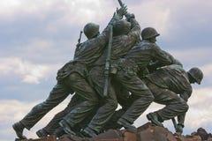 Monumento de la guerra del Cuerpo del Marines de los E.E.U.U. fotos de archivo