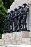 Monumento de la guerra en el parque Londres de San Jaime Imagenes de archivo