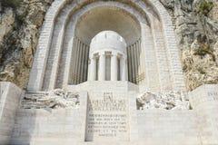 Monumento de la guerra en Francia Imagen de archivo libre de regalías