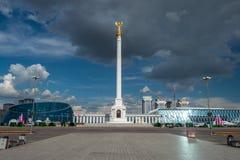 Monumento de la independencia foto de archivo