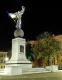 Monumento de la independencia de Ucrania imagen de archivo libre de regalías