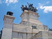 Monumento de la independencia del Brasil Fotografía de archivo libre de regalías