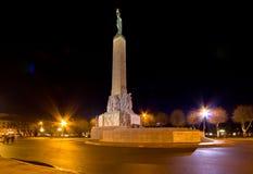 Monumento de la libertad, Riga Imagenes de archivo