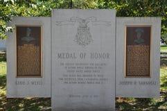 Monumento de la medalla de honor, Scranton, Pennsylvania Fotos de archivo libres de regalías