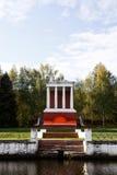 Monumento de la orilla fotografía de archivo libre de regalías