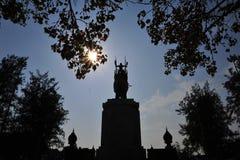 Monumento de la pagoda del rey Imágenes de archivo libres de regalías