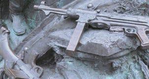 Monumento de la parte en Victory Park Moscow metrajes