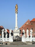Monumento de la plaga, Maribor Fotos de archivo libres de regalías