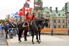 Monumento de la policía en Ottawa Fotos de archivo libres de regalías