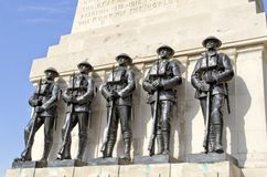 Monumento de la Primera Guerra Mundial Fotografía de archivo libre de regalías