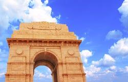 Monumento de la puerta de la India en Nueva Deli, la India Fotografía de archivo libre de regalías