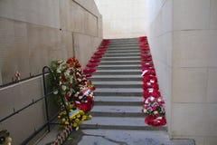 Monumento de la puerta de Ypres Menin fotos de archivo libres de regalías