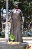 Monumento de la reina Lili'ukolani, Honolulu, Hawaii fotografía de archivo libre de regalías