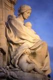 Monumento de la reina Victoria Fotografía de archivo libre de regalías