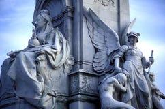 Monumento de la reina Victoria Imagenes de archivo