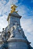 Monumento de la reina Victoria, Londres fotografía de archivo libre de regalías