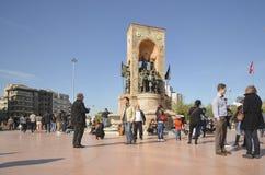 Monumento de la república Fotos de archivo libres de regalías