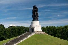 Monumento de la Segunda Guerra Mundial Imagen de archivo libre de regalías