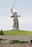 Monumento de la Segunda Guerra Mundial en Stalingrad Imágenes de archivo libres de regalías