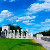 Monumento de la Segunda Guerra Mundial en Washington DC LOS E.E.U.U. Fotografía de archivo libre de regalías