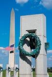 Monumento de la Segunda Guerra Mundial en Washington DC LOS E.E.U.U. Fotos de archivo libres de regalías