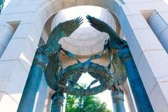 Monumento de la Segunda Guerra Mundial en Washington DC LOS E.E.U.U. Foto de archivo