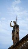 Monumento de la soldadura de la ciudad vieja de Dubrovnik, Croacia Imagen de archivo libre de regalías