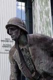 Monumento de la sublevación de Varsovia Imagen de archivo libre de regalías