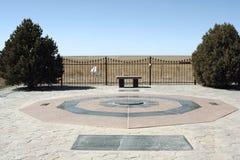 Monumento de la universidad de estado de Oklahoma Imágenes de archivo libres de regalías
