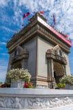 Monumento de la victoria de Patuxai en Vientian Foto de archivo libre de regalías