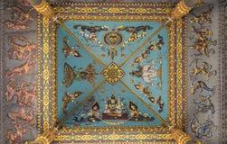 Monumento de la victoria de Patuxai en Vientian imágenes de archivo libres de regalías