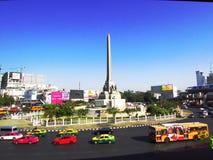 Monumento de la victoria en Bangkok Foto de archivo