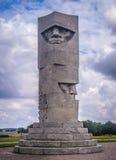 Monumento de la victoria en Grunwald, Polonia Foto de archivo libre de regalías