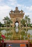 Monumento de Laos Imagens de Stock