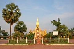 Monumento de Laos Imagenes de archivo