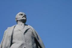 Monumento de Lenin fotografia de stock royalty free