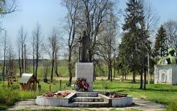 Monumento de Lenin Fotografia de Stock